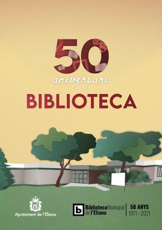 La Biblioteca de l'Eliana es prepara per a celebrar el seu 50 aniversari