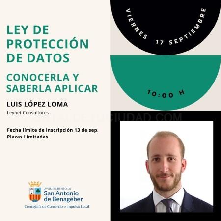 Vuelven los talleres online de emprendimiento con una formación sobre Ley de Protección de Datos en San Antonio de Benagéber