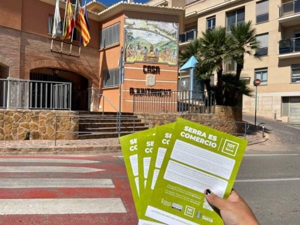 El Ayuntamiento de Serra pone en marcha dos campañas de apoyo al  comercio y los productos locales