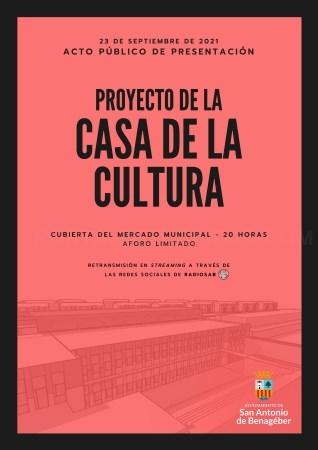 El Ayuntamiento de San Antonio de Benagéber presenta el proyecto de la nueva Casa de la Cultura