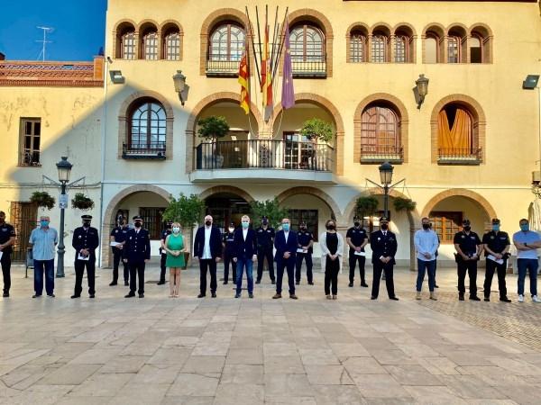 L'Eliana celebra el Día de la Policía Local y reconoce a sus agentes