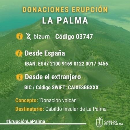El Ayuntamiento de Llíria donará 5.000 euros para los damnificados por el volcán de La Palma