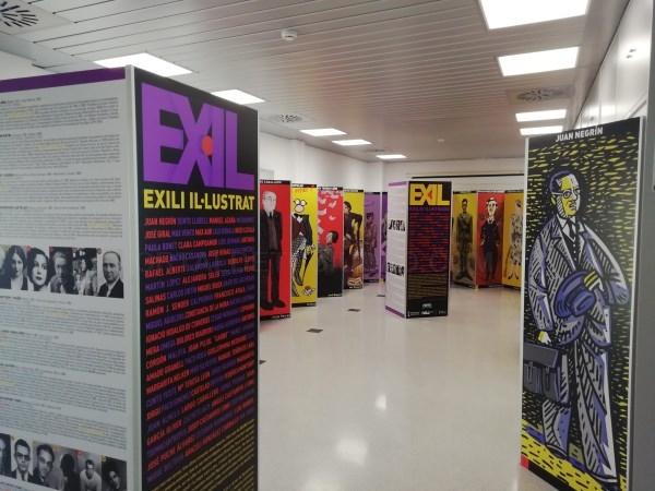 La exposición 'Exili Il·lustrat' del IVAJ llega en octubre a Gata de Gorgos, Llíria y València