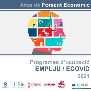 El Ayuntamiento de Llíria contratará a 34 personas a través de los programas EMPUJU y ECOVID