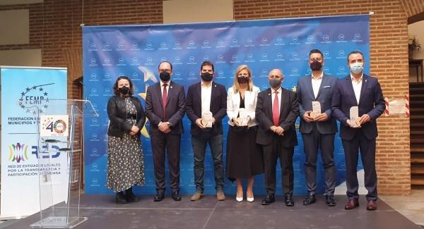 Riba-roja recibe en Madrid el premio InnovaGloc por la plataforma de contratación Ribalicita