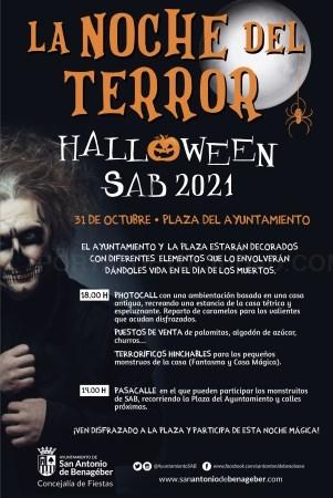 San Antonio de Benagéber celebrará Halloween 2021
