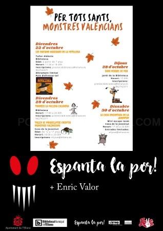 La Biblioteca de l'Eliana celebra la festividad de Todos los Santos con 'Espanta la por!'