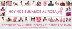 Hoy, en San Martín de la Vega, se suman al color rosa