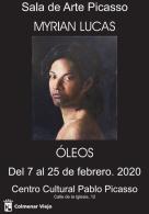 EXPOSICIóN DE óLEOS DEMYRIAN LUCAS