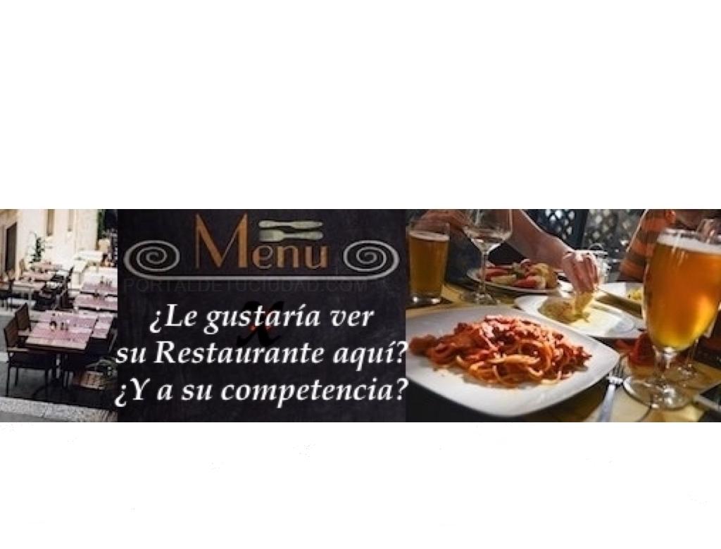 Restaurante en Colmenar y 3C