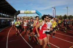 Cerca de 700 deportistas se dieron cita en Tres Cantos para participar en la XV Carrera de Otoño, III Memorial Manuel Escudero