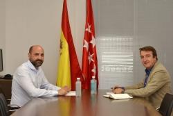 Los alcaldes de Tres Cantos y Colmenar pedirán al Ministerio de Fomento soluciones urgentes a los problemas de movilidad generados por las obras del p
