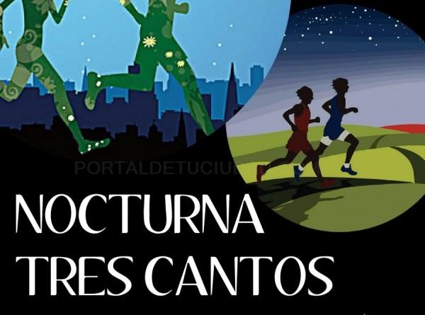 TRES CANTOS CELEBRA SU PRIMERA CARRERA NOCTURNA CON UN RECORRIDO DE 8 KILÓMETROS POR LAS GRANDES AVENIDAS DE LA CIUDAD