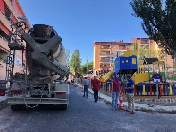 COMIENZAN LAS OBRAS DE REURBANIZACIÓN DE VISTA NEVADA