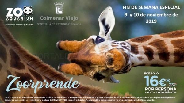 LOS VECINOS DE COLMENAR VIEJO PODRáN VISITAR EL ZOO AQUARIUM ESTE FIN DE SEMANA CON PRECIOS ESPECIALES