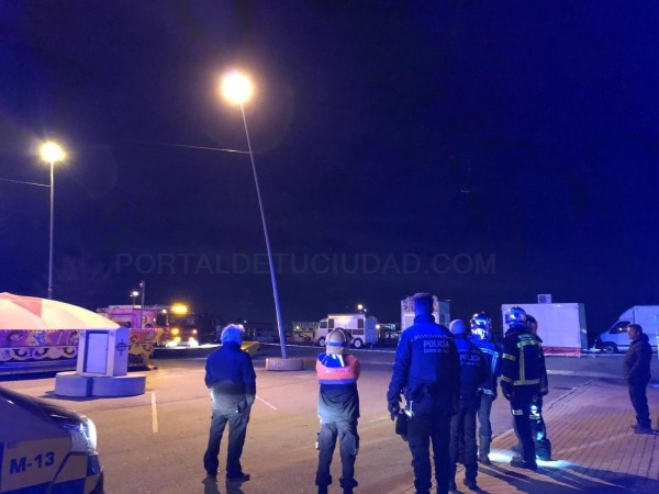 POLICíA LOCAL Y PROTECCIóN CIVIL HAN TRABAJADO A PLENO RENDIMIENTO EN UN COMPLICADO FIN DE SEMANA CON LA TORMENTA ELSA