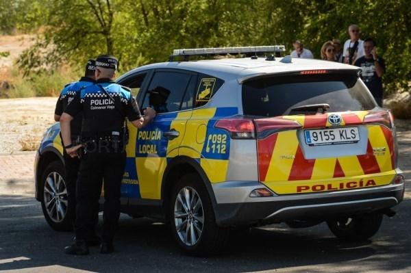 Policía Local detiene a dos menores de edad como presuntos autores de un incendio provocado