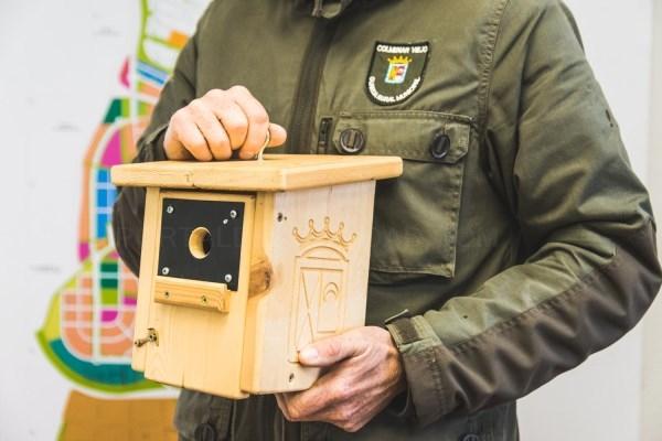 Colmenar Viejo pone en marcha un proyecto piloto para combatir la procesionaria instalando cajas nido para carbonero y murciélago