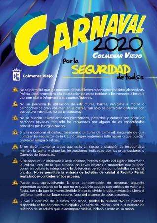Más de 120 efectivos al servicio de un Carnaval seguro