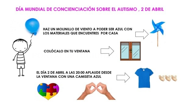 El Ayuntamiento de Tres Cantos se suma a la iniciativa 'Ilumínalo de azul' en el Día Mundial de la Concienciación sobre el Autismo