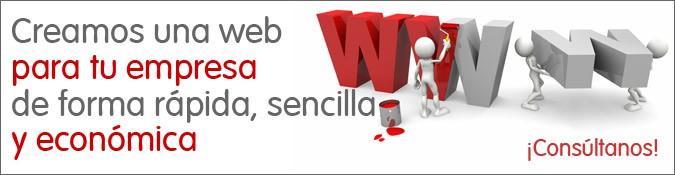 creamos una web para tu empresa