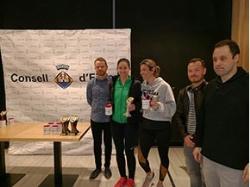 El torneo de pádel del Consell d'Eivissa reúne a 280 participantes