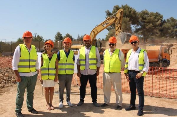 ABAQUA invierte 1,3 millones en un nuevo depósito para Santa Eulària des Riu con fondos del ITS