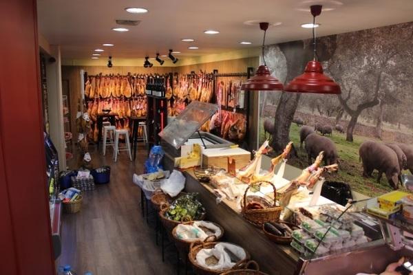 Jamón Ibérico, carnicería elaboración propia
