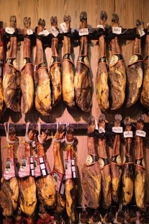 Productos ibéricos envasados en Hospitalet de Llobregat