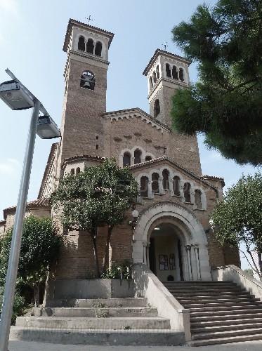 Resultado de imagen de iglesia santa eulalia hospitalet de llobregat