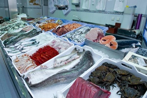 pescado fresco en el espinar, venta de pescado en el espinar