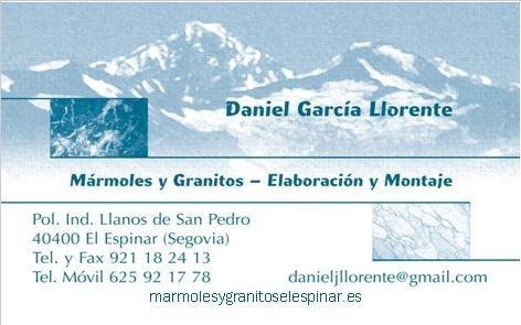 Mármoles y Granitos El Espinar