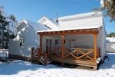 cabañas, cubiertas de madera en segovia