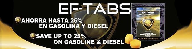 Ahorra gasolina con EF-TABS