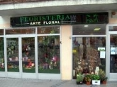 tienda, flores