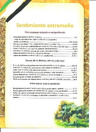 Menús especiales y eventos