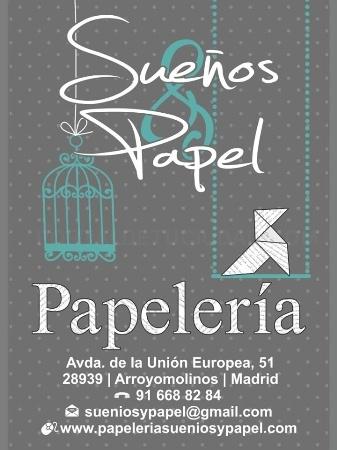 Sueños & Papel: Papelería- librería en Arroyomolinos