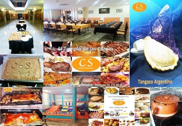 Bar- Restaurante CS Cocina Selecta Catering. Cocina nacional e internacional en Móstoles, especialistas en celebraciones, expertos en catering