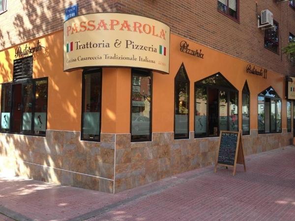 Passaparola: Trattoria y pizzeria en Mostoles, restaurante italiano tradicional mostoles, comida casera italiana mostoles