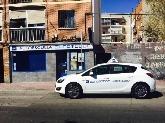 coche, fachada