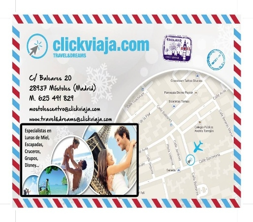Travel and Dreams Click Viaja: agencia de viajes economica en mostoles