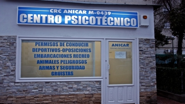 Anicar centro psicotecnico