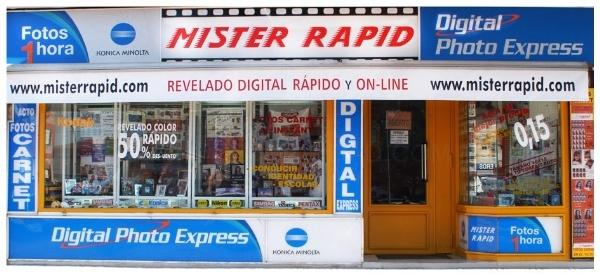 Productos y servicios mister rapid laboratorio for Revelado de fotos barato