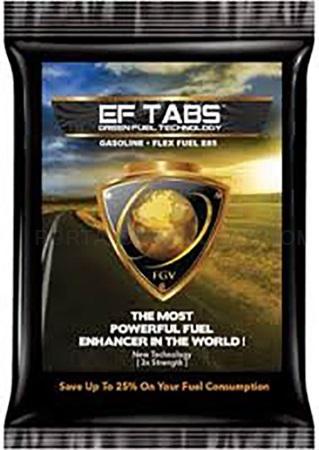 Ef-Tabs, ahorra en gasolina, ahorra diesel, Ahorra dinero con el aditivo más potente del mundo.