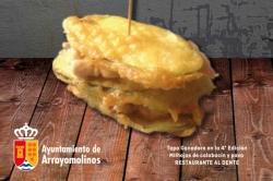 La V Feria de la Tapa de Arroyomolinos se celebrará entre el 13 y el 22 de noviembre