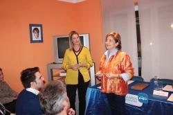 Rosa Vindel, en Navalcarnero: Ojo con esos nuevos partidos con ellos, no se sabe bien qué se vota