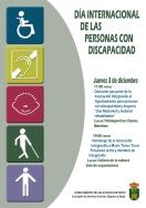 Mañana día 3 Día Internacional de las Personas con Discapacidad