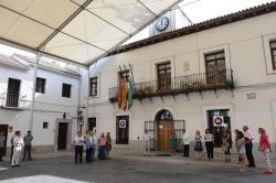 Villaviciosa muestra su solidaridad con el pueblo italiano