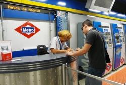 Metro de Madrid suprimirá todas las taquillas