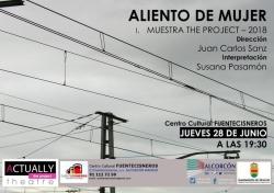 """""""ALIENTO   DE   MUJER"""",   PROPUESTA   CULTURAL  EN   EL CENTRO FUENTECISNEROS"""